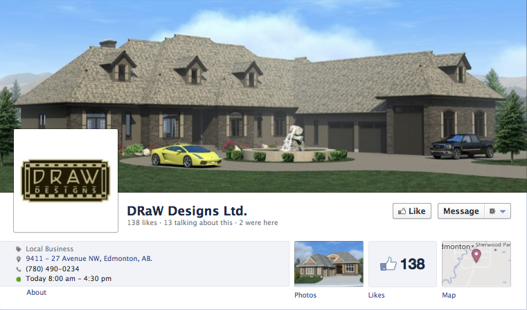 DRaW Designs on Facebook